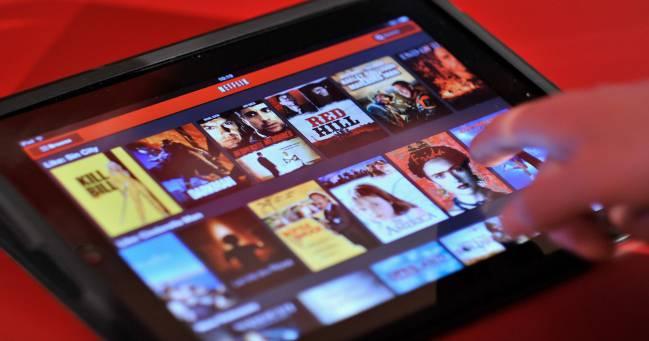 Netflix en un iPad