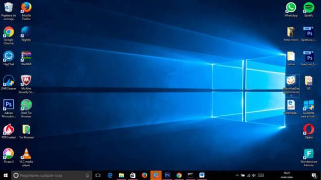 Limpia tu escritorio de iconos que no usas con esta app - Iconos para escritorio windows ...