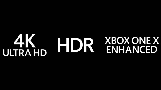 Este Es Logo Para Diferenciar Los Juegos De Xbox One X Mejorados A