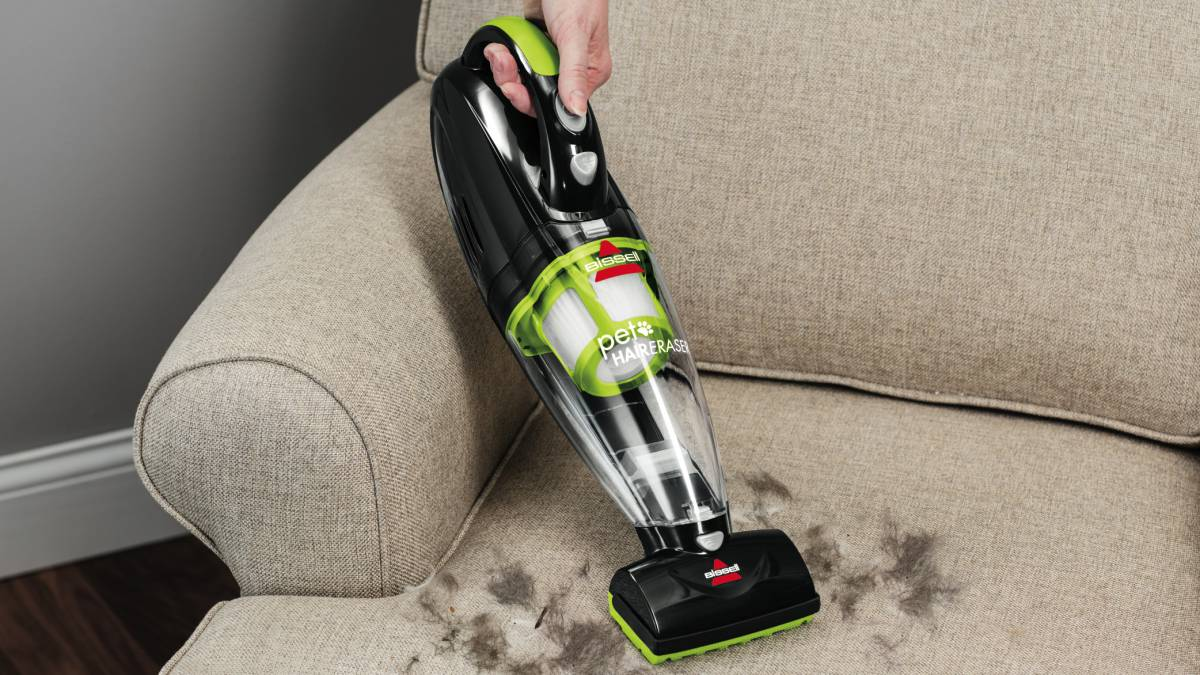 Pet hair vacuum el mini aspirador para quitar pelos de - Como quitar los pelos de gato de la ropa ...