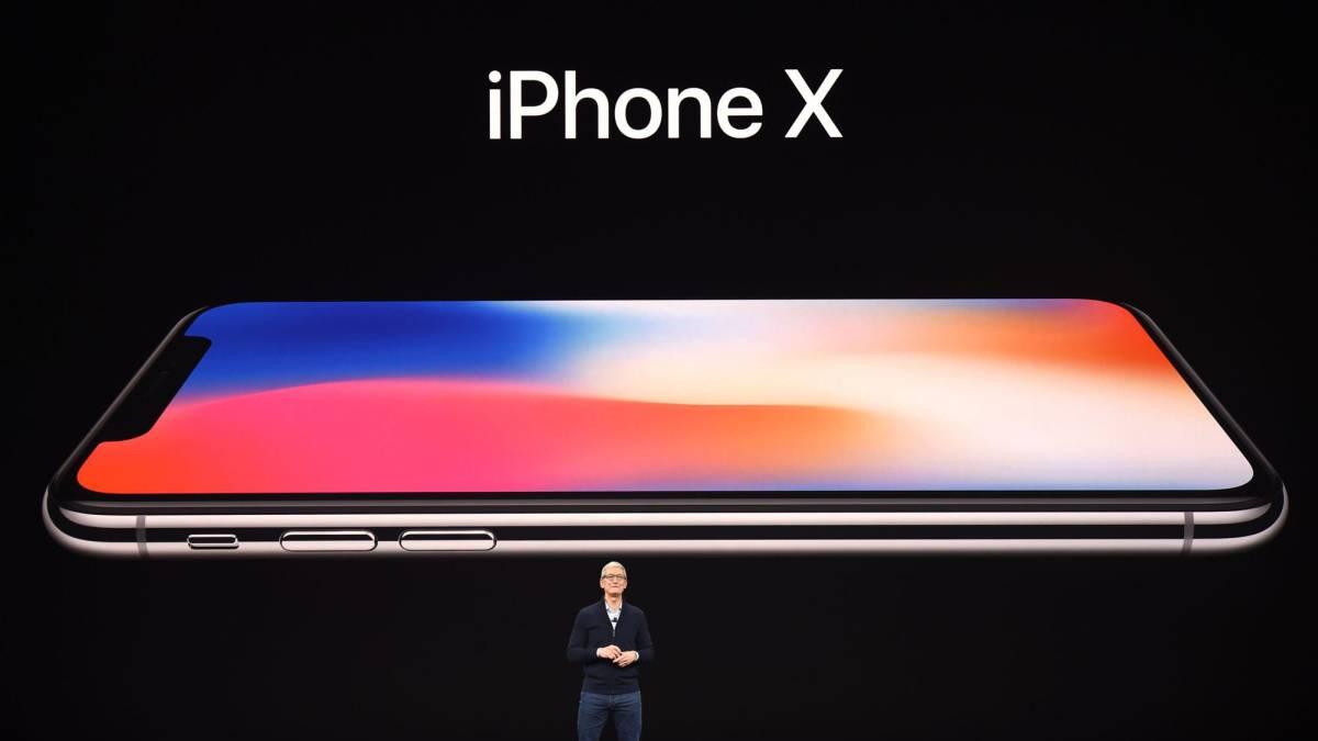 c7bed094e41 iPhone X, Apple por fin desvela su nueva estrella de 999 dólares ...
