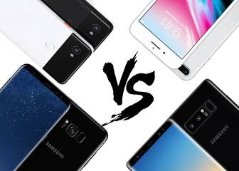 Google Píxel 2 XL vs sus rivales: iPhone 8 Plus, Samsung Galaxy S8
