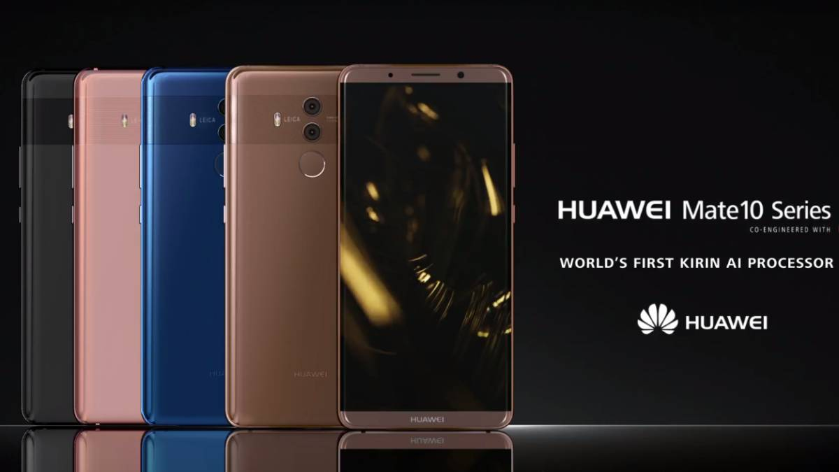 4e07d8f03c9 Huawei Mate 10 y Mate 10 Pro con NPU, la revolución en la IA móvil ...