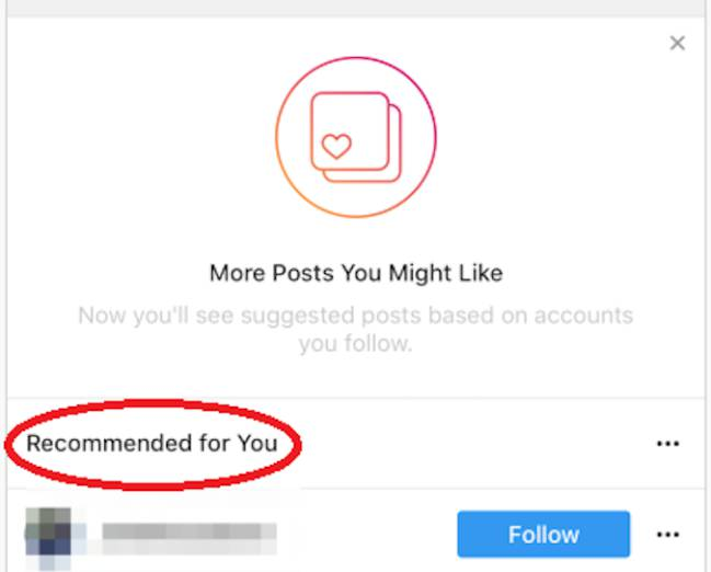 Instagram hará las recomendaciones basadas en lo que la red social supone  que el usuario quiere seguir. La nueva sección contendrá una cantidad de ... 405443647b6
