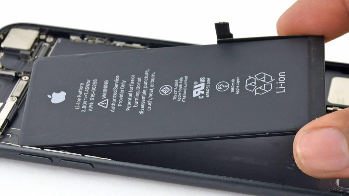 Resultado de imagen para apple bateria