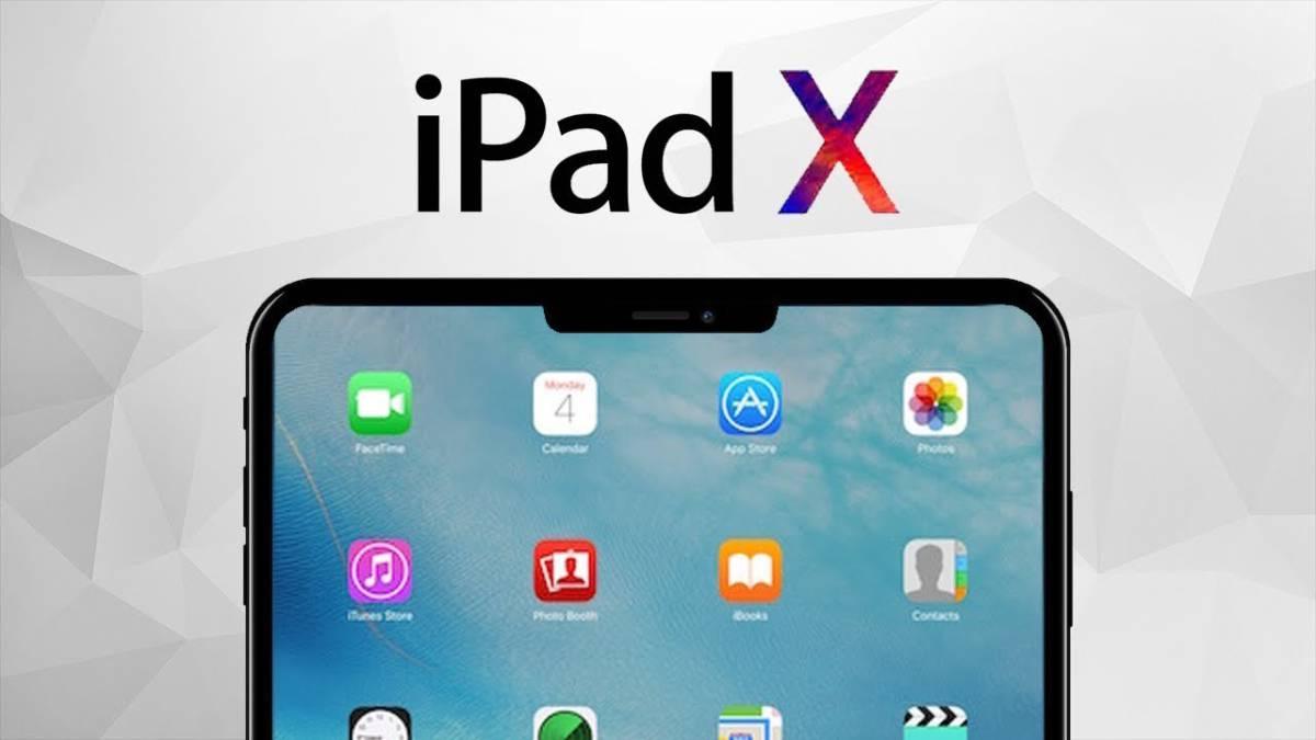 11.3 adelanta un iPad de 2018 con el diseño del iPhone X ...