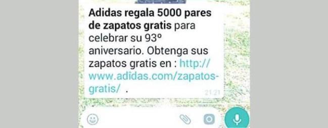 Whatsapp Estafa De Cuidado Las En Adidas La Con Zapatillas FqTgAv
