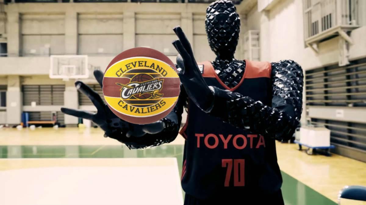 Cue, el robot de Toyota que mejora los tiros libres de ...