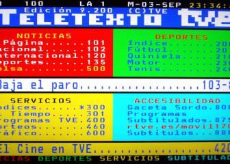 Cómo ver online el mítico Teletexto, que cumple 30 años