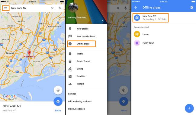 Cómo usar Google Maps sin conexión en el móvil - AS com