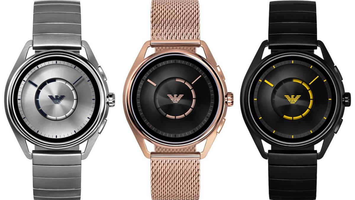 86c1c72ef021 Así es el nuevo reloj inteligente Armani