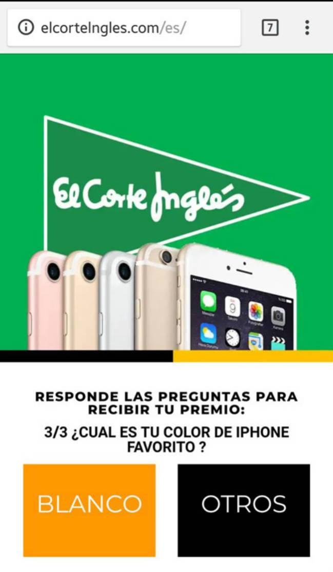 15 aniversario corte ingles 2019 regalo iphone