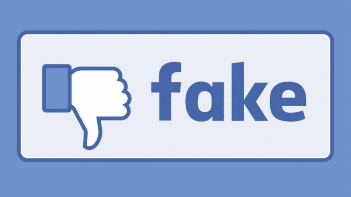 Facebook publishes fake news in paid, online advertising