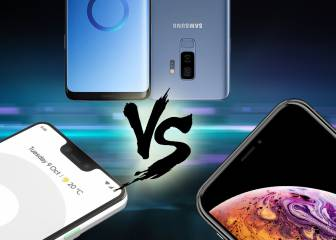 Comparativa: Google Pixel 3 XL Samsung Galaxy S9+ y iPhone XS Max