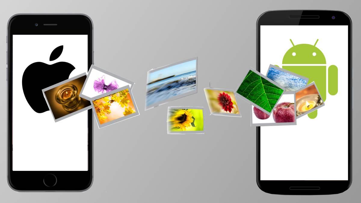 f78a0d9c1f1 Cómo pasar las fotos, contactos y chats de un móvil Android a tu nuevo  iPhone