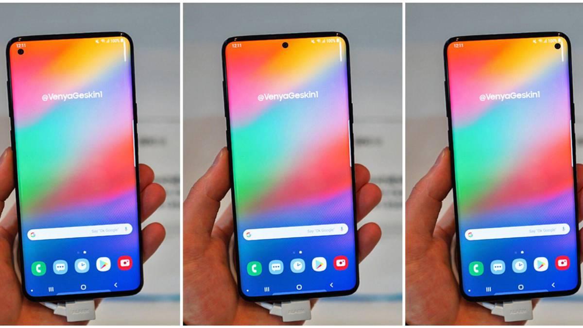 Un Samsung Galaxy S10 sin curvas, vuelve la pantalla plana