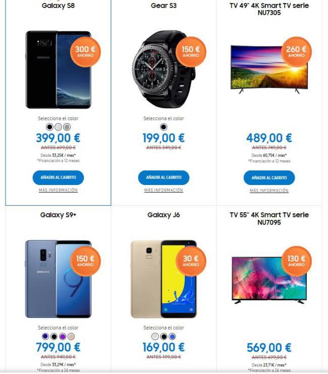 89cff74625b4 Black Friday 2018  las mejores ofertas de Samsung y Apple - AS.com