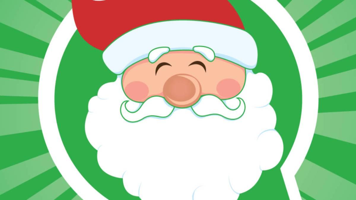Resultado de imagen para whatsapp stickers navideños