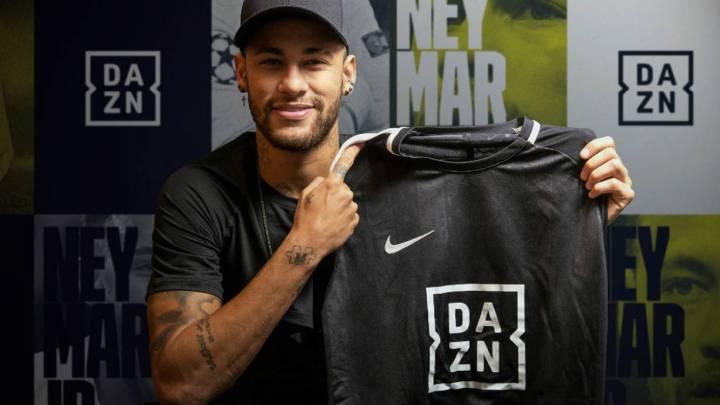 newest 707ea 5a957 DAZN llega a España  precio, catálogo y el fichaje de Neymar