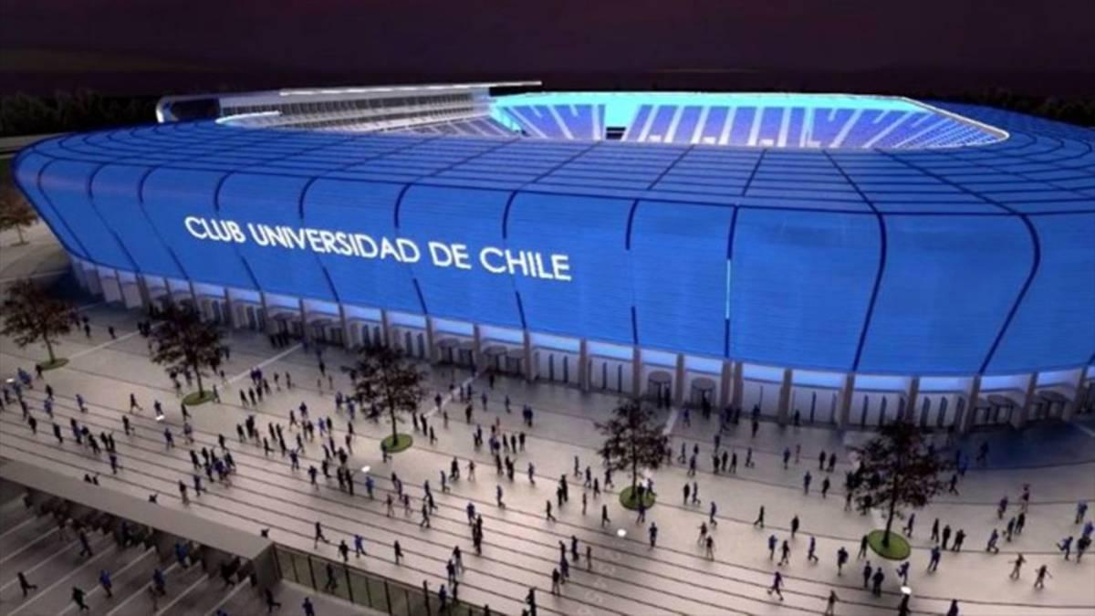 La espectacular maqueta del estadio de la U que se hizo viral - AS Chile