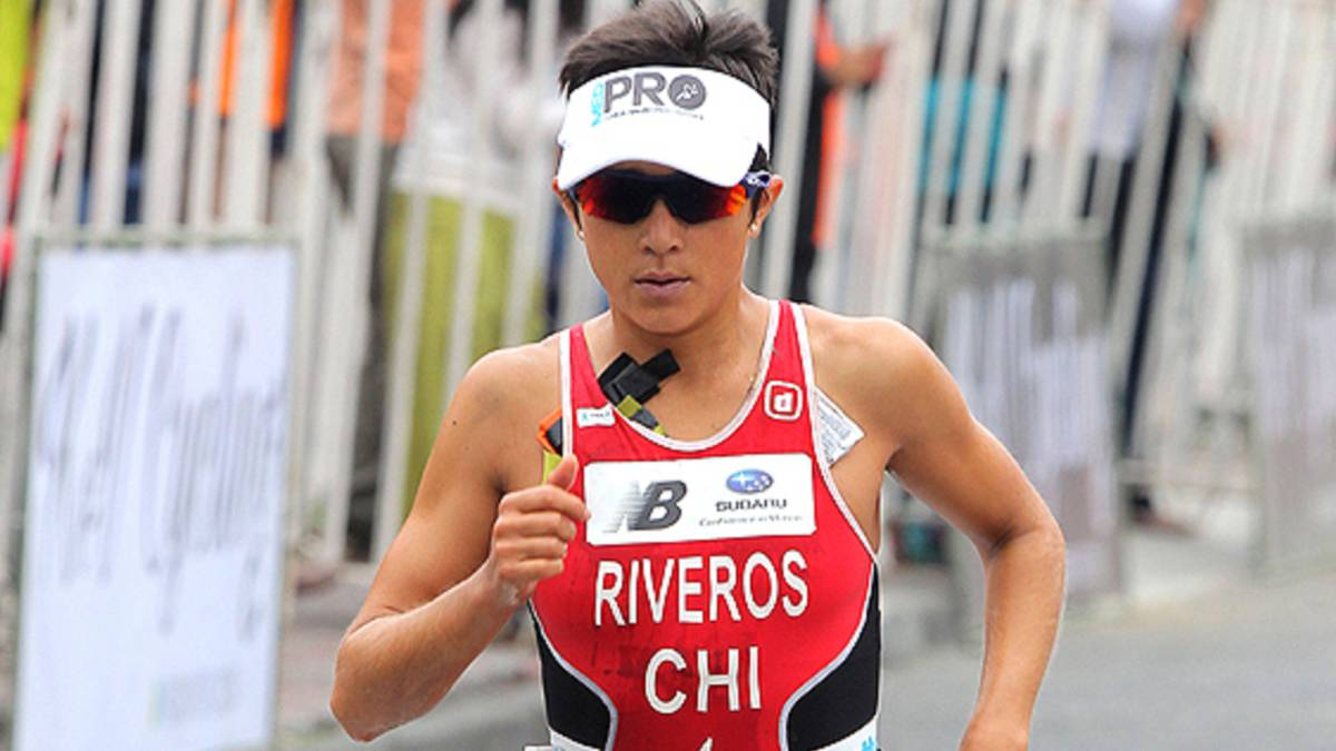 Bárbara Riveros finalizó cuarta en accidentado triatlón