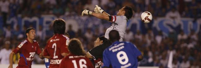 Universidad de Chile enfrentó a Cruzeiro el 2009.