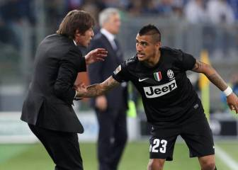 Conte no esconde devoción por Vidal: