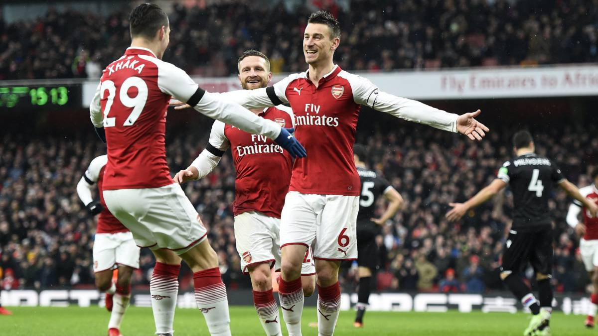 Arsenal se inspira sin Alexis y golea a Crystal Palace