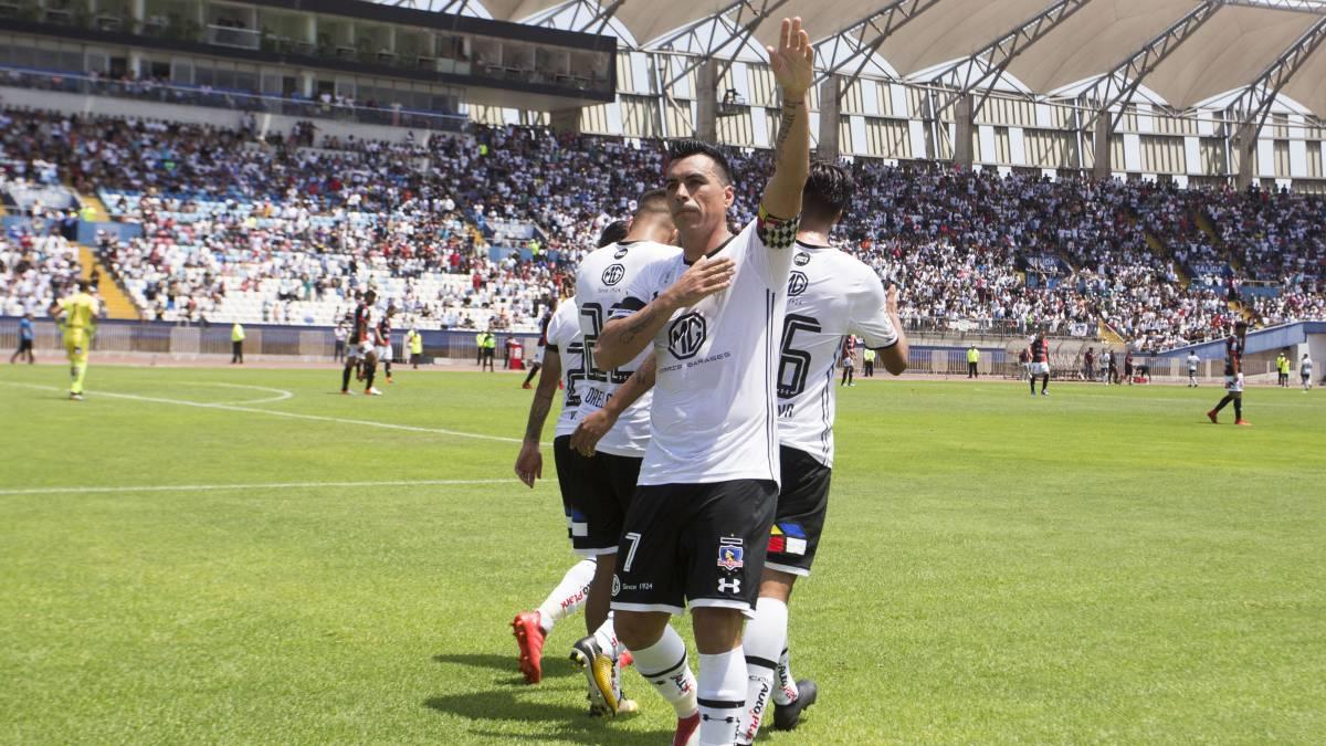 Antofagasta vs Colo Colo  Paredes guía a los albos - AS Chile 2d804ba845127