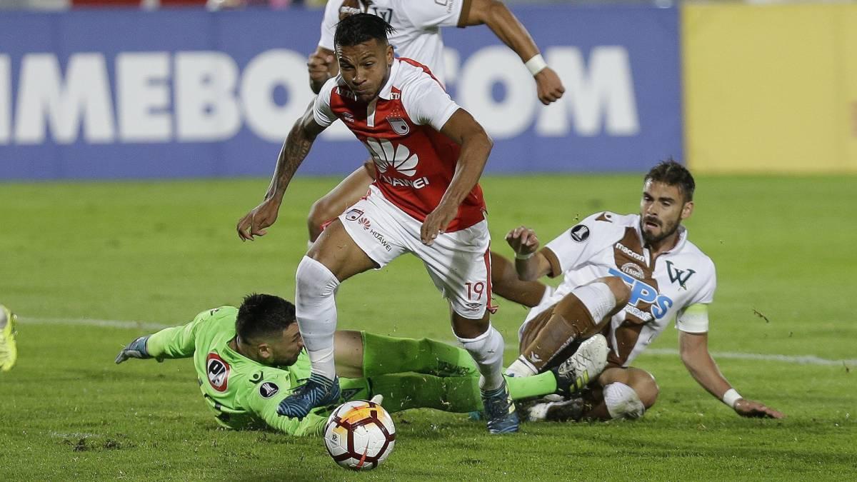 Santa Fe 2-0 Wanderers: los caturros quedan fuera de la copa