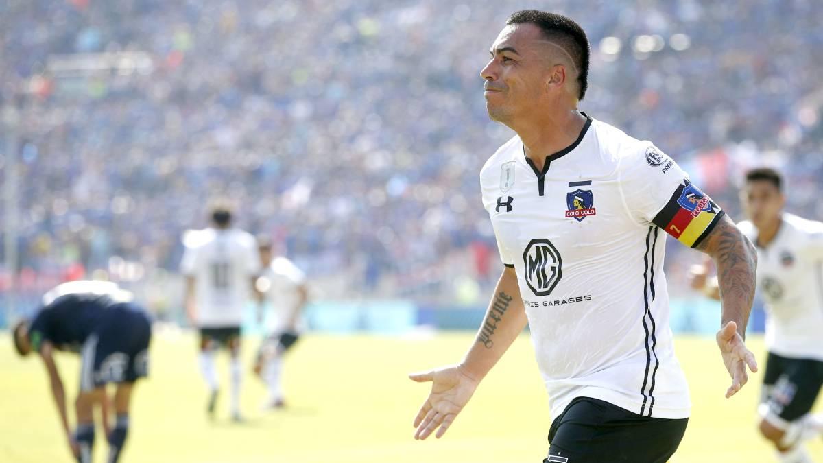 U. de Chile 1-3 Colo Colo  Esteban Paredes vuelve a festejar - AS Chile 00f68d5f014ec