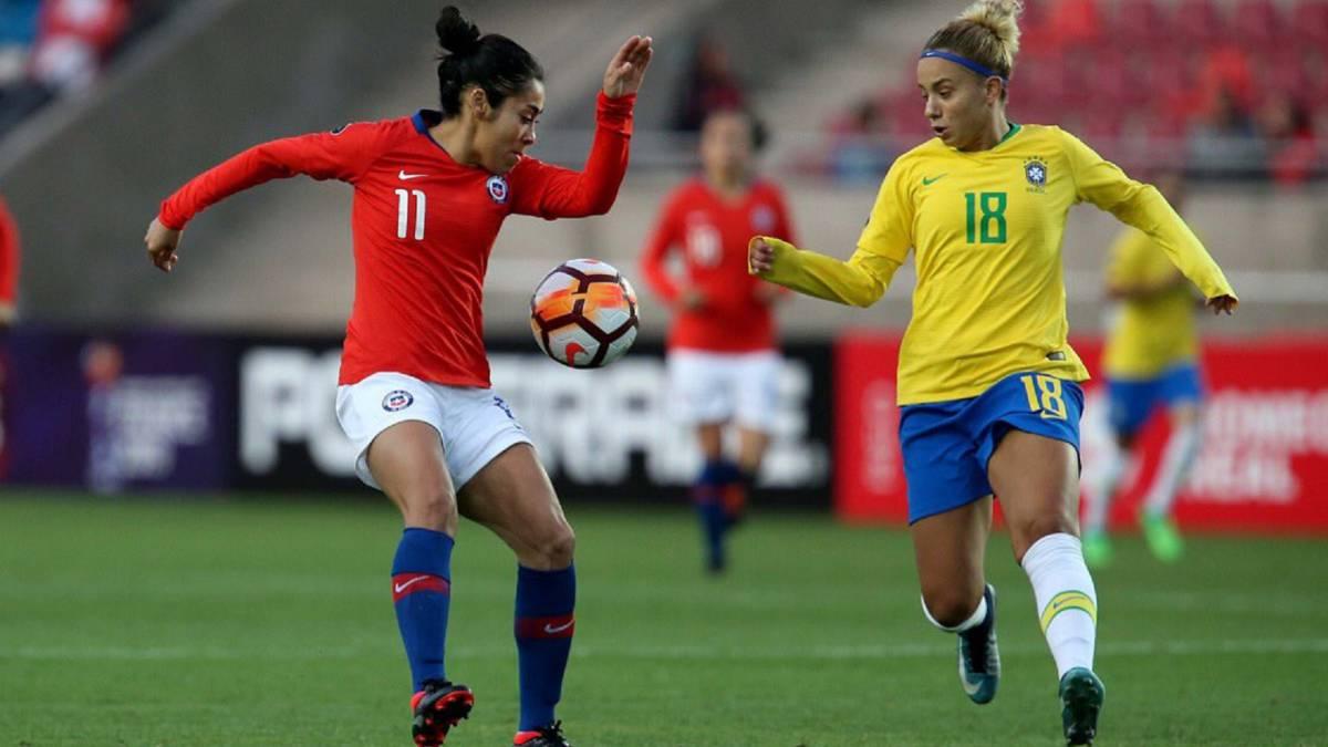 Chile 1-3 Brasil: La Roja sufre en la Copa América Femenina
