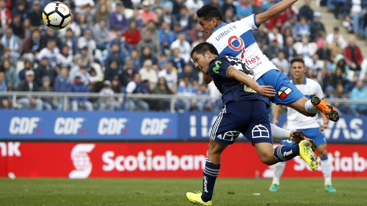 U Católica 1-1 U de Chile: Pinilla salvó un clásico sin brillo - AS ...