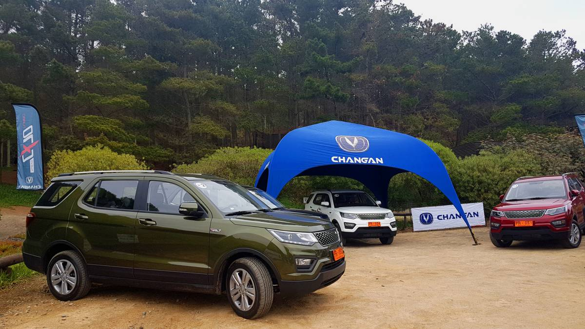 Changan presenta su CX70 con motor turbo