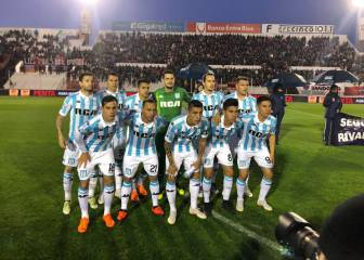 Marcelo Diaz brilló en su debut como titular en Racing