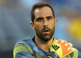 El notable gesto de Real Madrid con Claudio Bravo