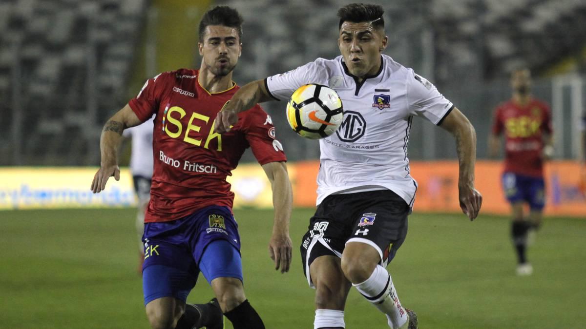 Colo Colo 1-1 U. Española  Barrios salvó a los albos - AS Chile 904c909ebceef