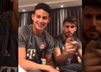 James y su video de apoyo al hijo youtuber de Arturo Vidal