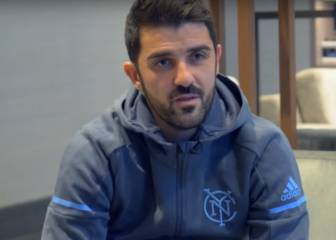 Así anunció David Villa su ida del New York City