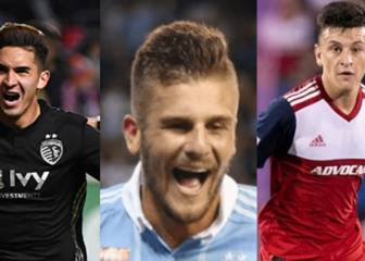 Los tres chilenos que animan la actual temporada en la MLS