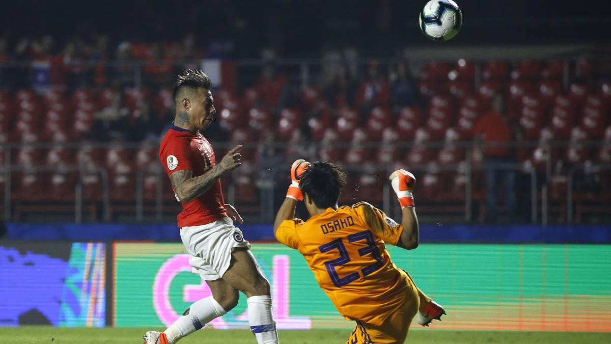 Chile brilló en el estreno y goleó a Japón en Sao Paulo