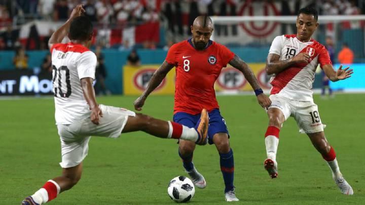 Chile - Perú, Copa América: canal de TV, horario y dónde ver - AS Chile