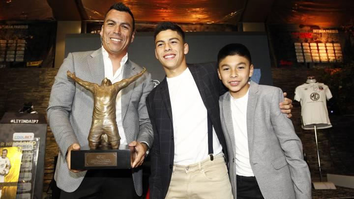 La promesa del hijo menor de Paredes acerca de su récord - AS Chile