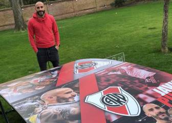 Los Magic Games del 'Mago' Valdivia aterrizan en River Plate