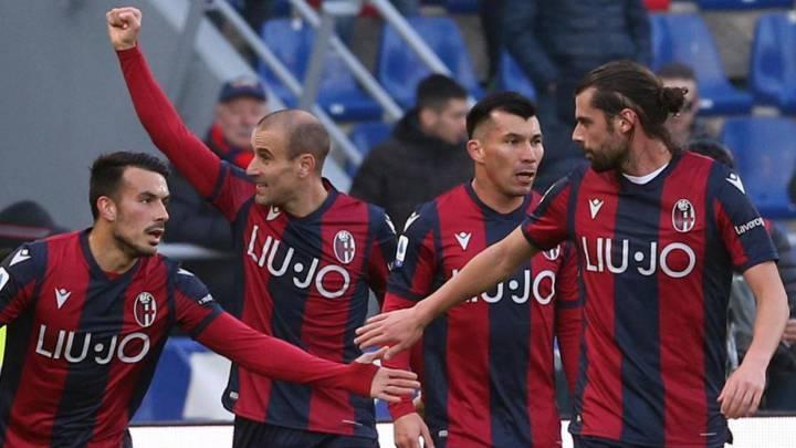 Medel fue titular en importante victoria de Bologna ante Atalanta ...