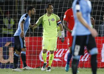 Golpe a Uruguay: Suárez no estará ante Chile en eliminatorias