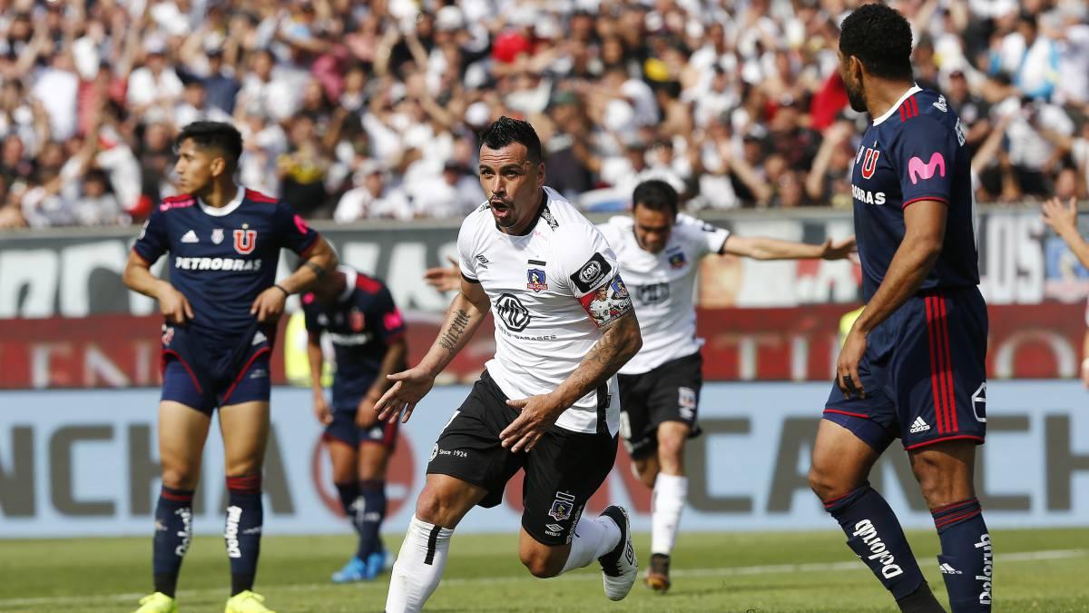 Cuántos goles le ha hecho Esteban Paredes a la U? - AS Chile