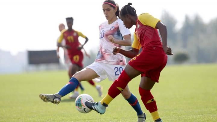 Chile golea en su debut en laTurkish Women's Cup