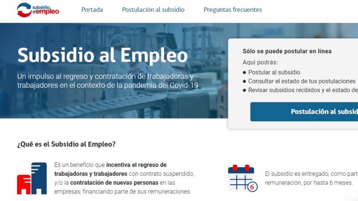 Plan De Subsidio Al Empleo De Cuanto Es El Monto Y Como Se Paga As Chile