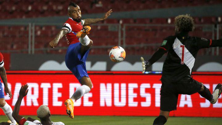 Sigue el minuto a minuto del duelo entre Chile y Perú por la tercera fecha de las Clasificatorias Sudamericana, que se juega hoy en el Estadio Nacional.